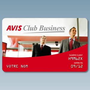 la carte club business d'avis.