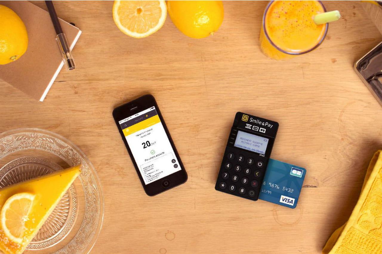 Smile & Pay lève 2,5 millions d'euros pour sa solution d'encaissement par  carte