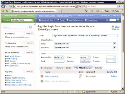 interface utilisateur de test case management