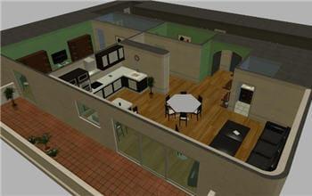 capture d'écran d'un environnement 3d créé avec les outils de simplysim