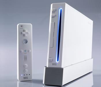 le console de jeux wii.