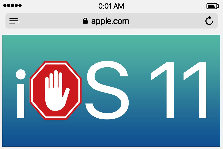 Avec iOS 11, Apple veut mettre un stop à certaines pubs mobiles