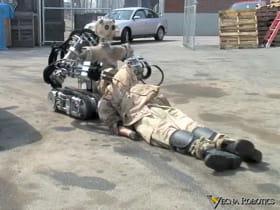 les robots pourraient bientôt ramener des soldats blessés de la ligne de fronts