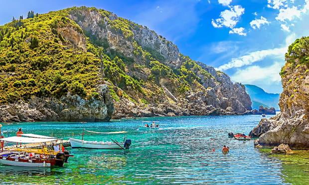 Corfou (Grèce): italienne