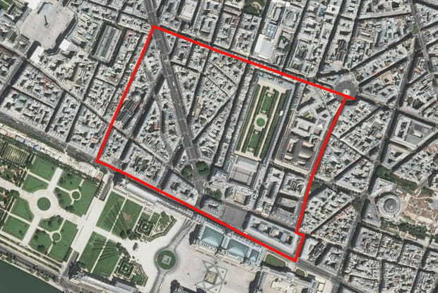 3e : Palais-Royal (1er arrondissement)
