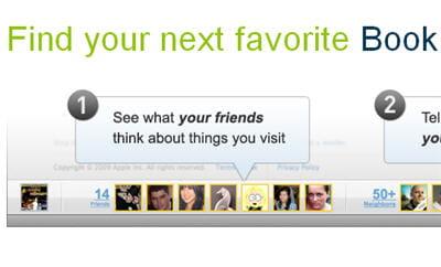 partagez et échangez avec vos contacts lorsque vous surfez sur des sites web