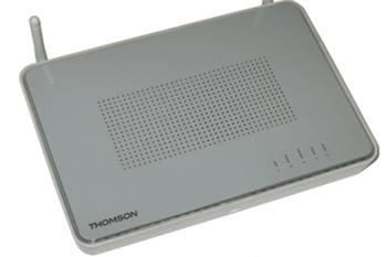 le routeur thomson tg 587n permet des applications de réseau domestique