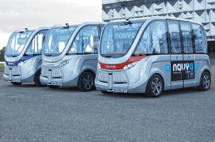 Info JDN: les navettes autonomes bientôt autorisées à rouler sans humain à bord