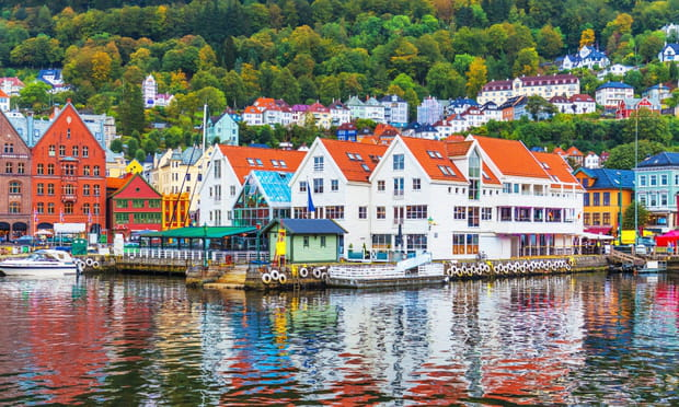 Bergen (Norvège): panoramique