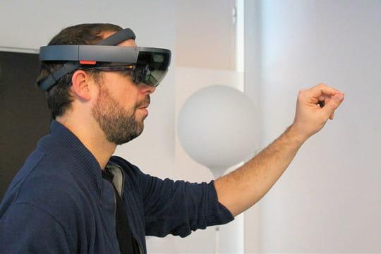 Test du Microsoft HoloLens: un casque d'abord à destination BtoB