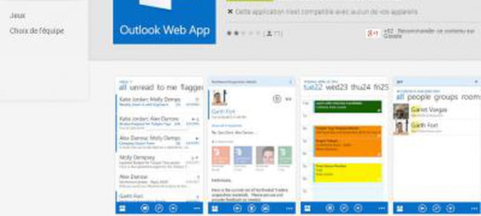 Outlook Web App arrive sur Android