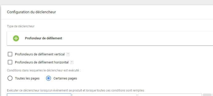 4déclencheurs pour suivre son contenu sur Google Tag Manager