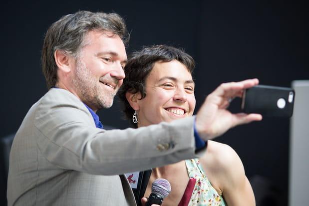 Olivier Mathiot et Marie Ekeland
