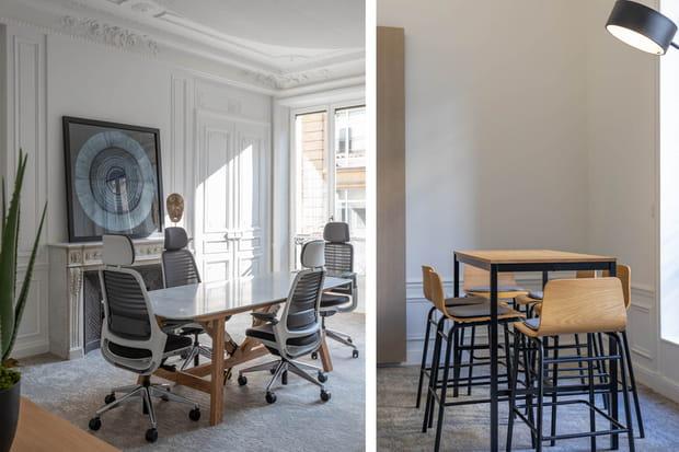 Un mobilier issu d'une collaboration avec La Redoute For Business
