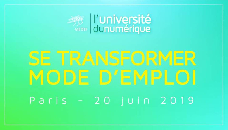 L'Université Numérique du Medef distinguera la transformation des ETI-PME