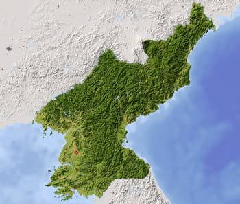 la république populaire démocratique de corée couvre la moitié nord de la