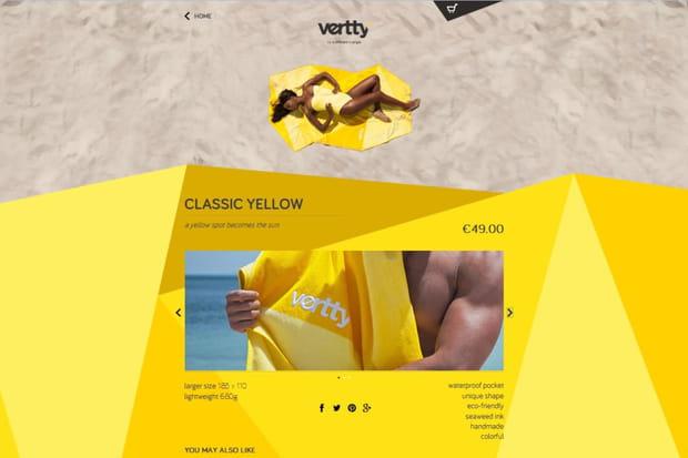 Vertty: un mini-catalogue maxi-exposé