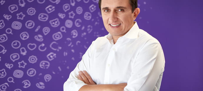 """Djamel Agaoua (Viber):""""Notre objectif est de permettre l'achat en ligne sur Viber"""""""