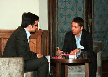 jean-michel maurer (à droite), co-fondateur de brozengo
