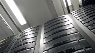baies au sein du data center de numergy.