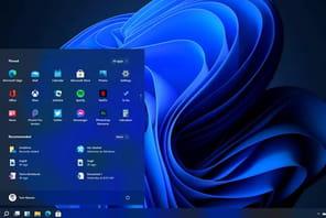 Windows11: un teaser confirme le nouveau fond d'écran
