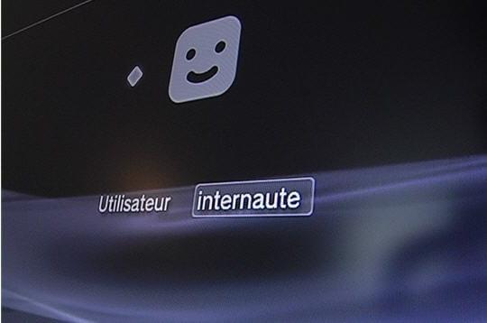 Un menu proche de la PSP
