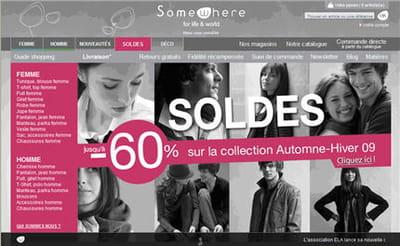 page d'accueil du site somewhere.fr