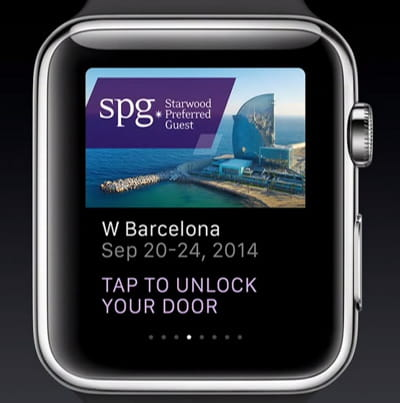 l'application de starwood est destinée aux clients vip.