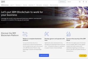 Comment IBM se déploie dans lablockchain en France