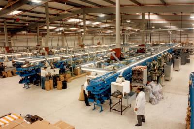 l'usine anglaise de dr martens.