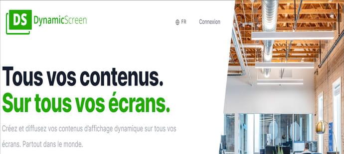 DynamicScreen lève 1,2million d'euros pour dynamiser la communication des entreprises