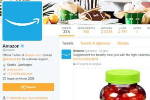 Audience mobile en France: forte hausse pour Twitter et Amazon qui s'installent dans le top 10