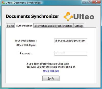 la fonction document synchronizer à l'oeuvre