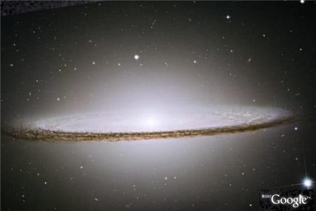 4 Galaxie Sombrero