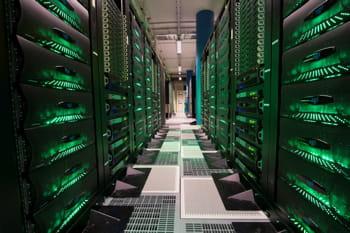 la puissance des supercalculateurs permet de traiter des quantités de données de
