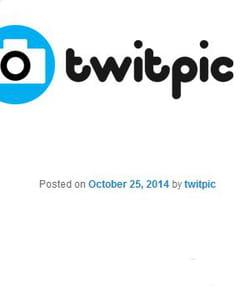 twitpic appartient désormais à twitter.
