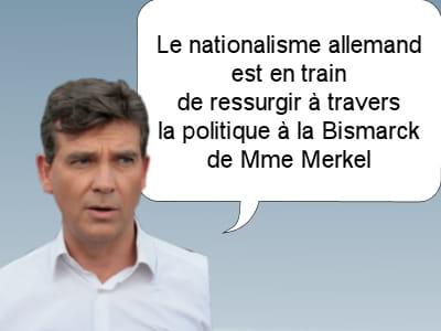 arnaud montebourg, député socialiste, le 1er décembre 2011.