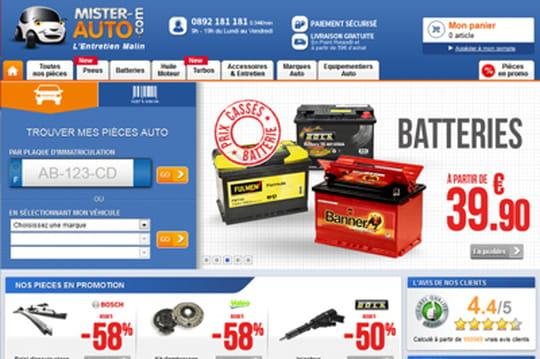 Mister-Auto.com: la recommandation personnalisée pour booster le chiffre