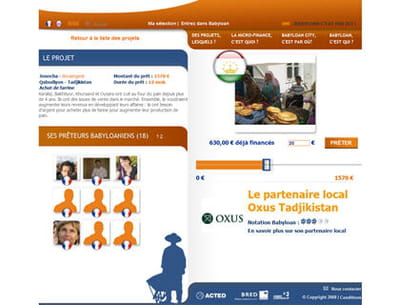 capture du site babyloan.org
