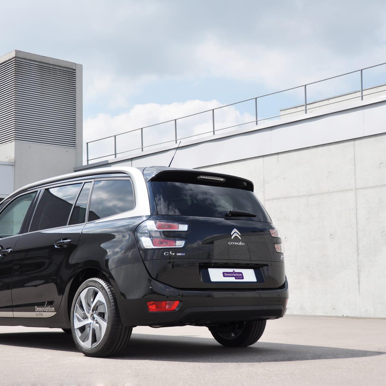 Une Journee Dans La Voiture Autonome De Peugeot Citroen