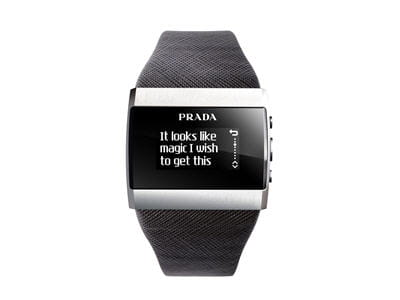 montre lg permettant de lire les sms reçus sur son mobile