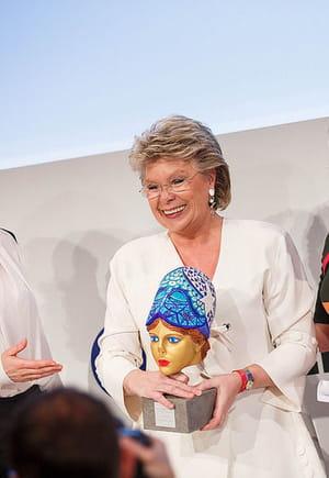 viviane reding, vice-présidente de la commission européenne.