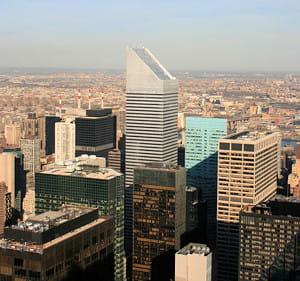 le siège de citigroup, à new york.