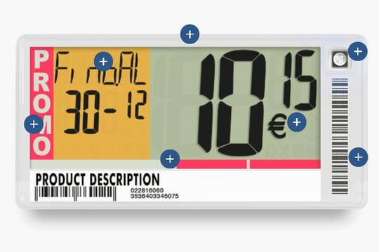 Les étiquettes connectées vont digitaliser les rayons d'Auchan