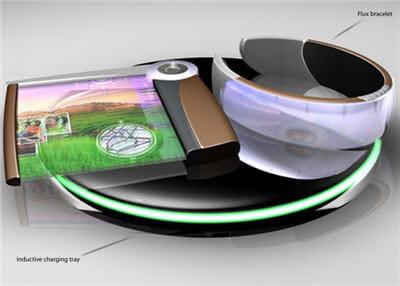 un bracelet, un écran flexible et une batterie : un pc portable complet