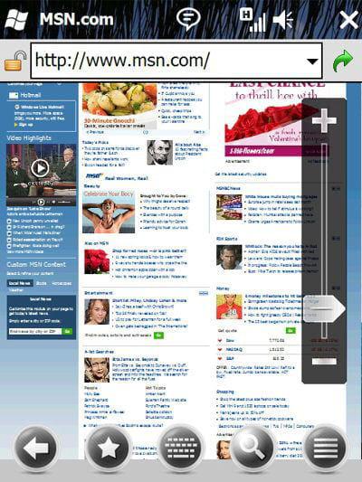 le nouvel internet explorer pour mobile