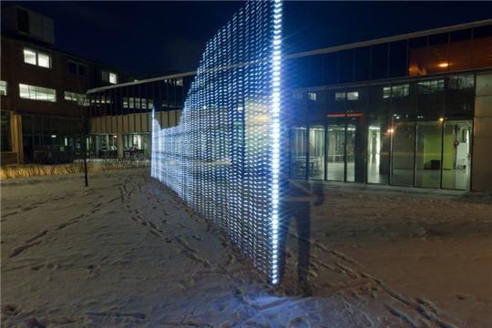 Lightpainting wifi : ville connectée