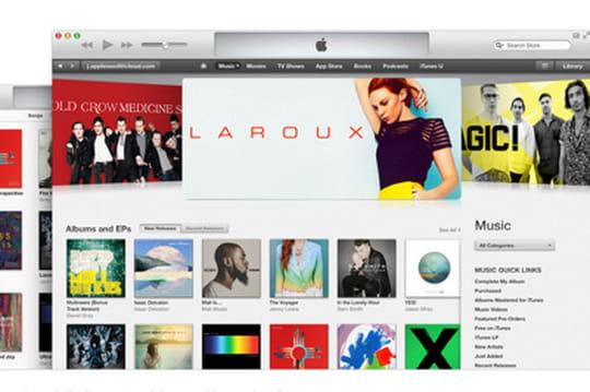 La musique ne fait plus recette sur l'iTunes Store