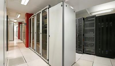 sous des dehors très discrets, un data center classique.