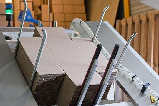 BazarChic : fabrication des cartons